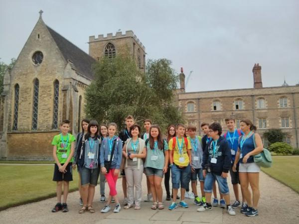 CAMBRIDGE (UK) college, luglio